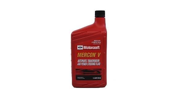 Ford xt-5-qmc mercon-v Transmisión automática y Power Steering Fluid - 16 oz Tamaño: 16 onza: Amazon.es: Coche y moto