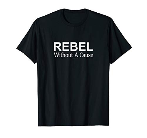 Cool Rebel Without A Cause T-shirt