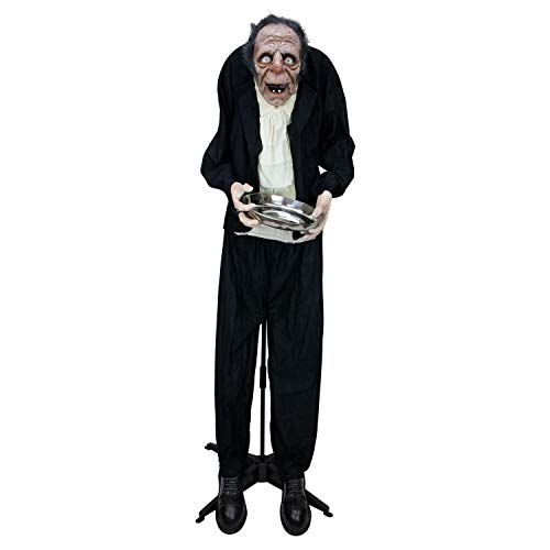 Old Halloween Candy (Holidayana Halloween Animatronics Animated Old Man with Candy Dish Prop Scary Animatronic Props)
