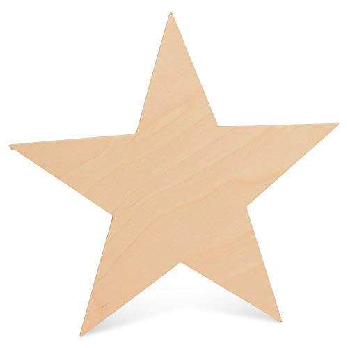 Wooden Star Shapes| 12