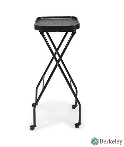 Fold-A-Way Service Tray CALEB BLACK Beauty Salon Barber Shop Salon Furniture & Equipment