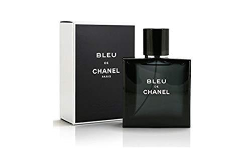 (Chanél Bleu Men's Eau de Parfum Pour Homme 1.7 OZ / 50 ML In Retail Box/Sealed)