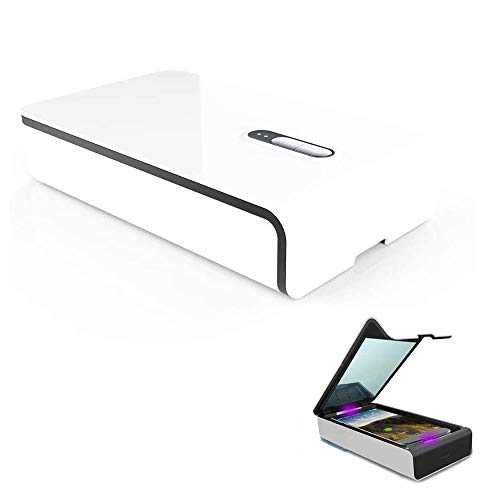 MIFAVOR Cell Phone Cleaner and Charger Smartphone Cleaning Box for iPhone Android Phone Jewelry Eyeglasses Makeup Tools Watch