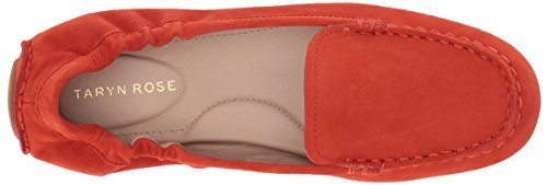 Suede Silky Driving Women's Poppy Loafer Kristine Taryn Style Rose tIqOxAwyP