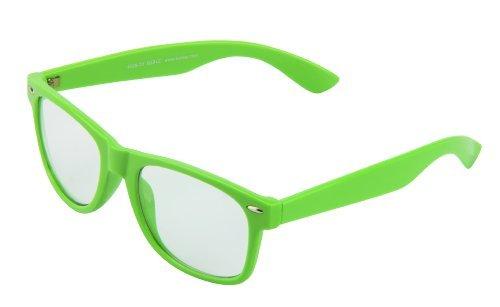 45 Transparent couleurs soleil Vert modèle Nerd différentes de 4026 Lunettes qXzwYAw