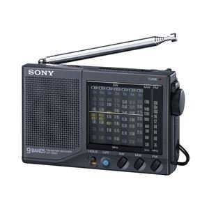 Sony ICF-SW23 FM / MW / SW1-7 Portable World Band Receiver Radio (Japan (Sony World Receiver)