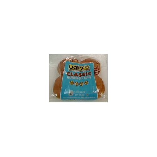 Udi's Gluten Free Hamburger Buns 10.4 oz. - case of 8 (4 buns per pack)
