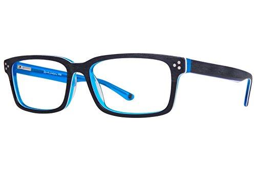 Randy Jackson RJ 3028 Mens Eyeglass Frames - Navy - Randy Frame
