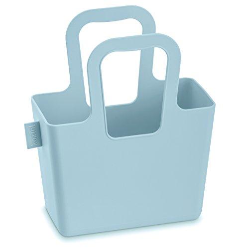 Koziol 5415582 Panierlini Panier Plastique Moutarde 5,8 x 14,1 x 16,3 cm Poudre Bleu