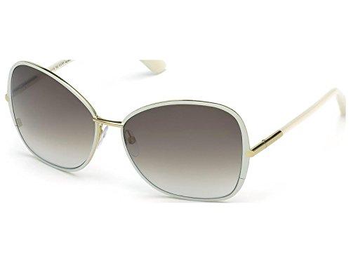 Tom Ford Women's Solange TF319 Sunglasses, White/ Light - Tom Frame White Sunglasses Ford