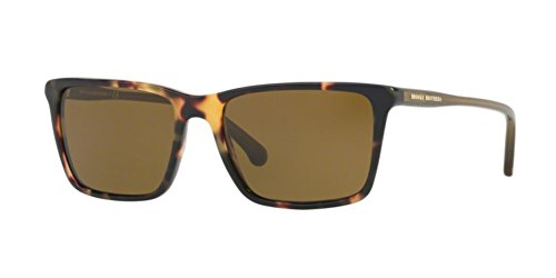 Brooks Brothers 0BB5034S-612473 RETRO TORTOISE/OLIVE TRANSLCNT -55mm - Sunglasses Brothers Brooks