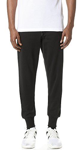 Y-3 Men's Y-3 Classic Fleece Pants, Black, - Pant French Classic Fit Terry