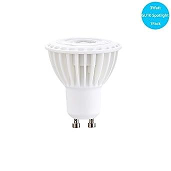 Dimmable led spotlight bulb gu10 base track light bulb 5000k dimmable led spotlight bulb gu10 base track light bulb 5000k daylight white 30 watt using only aloadofball Gallery