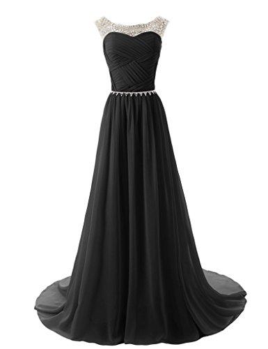 Schwarz Queen Hot Damen Kleid A Linie Schwarz AUn7q8wx