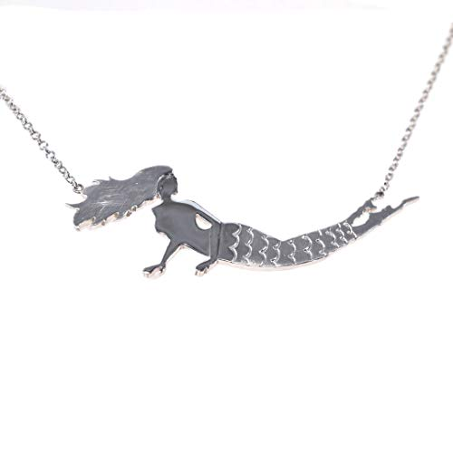 The Long Island Strong Sterling Silver Long Island Mermaid Necklace