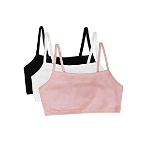 Well-Being-Matters 31jTfyep%2BsL._SS300_ Fruit of the Loom Women's Spaghetti Strap Cotton Pullover Sports Bra