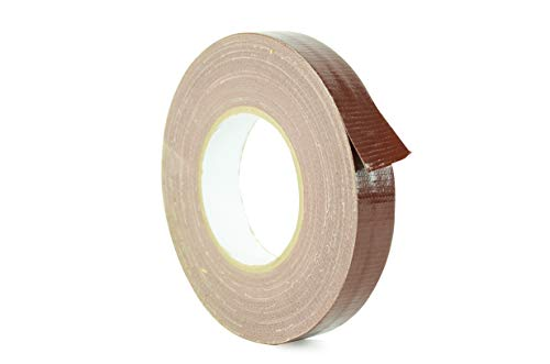 WOD CDT-36 Advanced Strength Industrial Grade Dark Brown Duct Tape, Waterproof, UV Resistant For Crafts & Home Improvement (Available in Multiple Sizes & Colors): 1 in. x 60 yds. (Pack of 1) ()