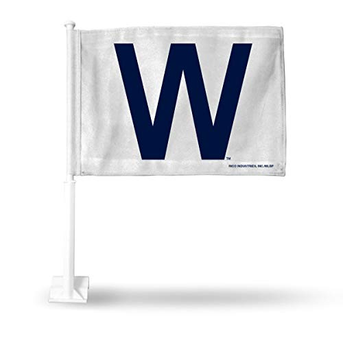 MLB Chicago Cubs 'W' Car Flag (White Background) for sale  Delivered anywhere in USA
