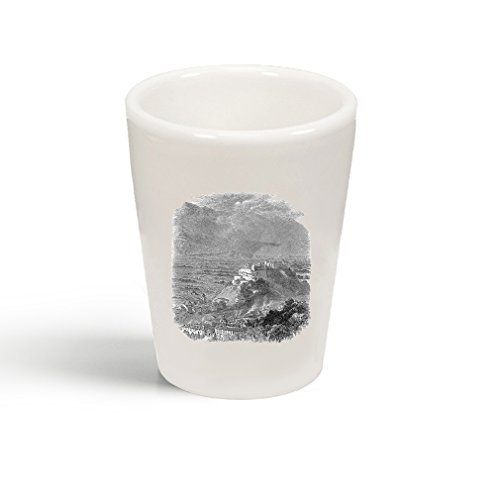 Style In Print Salzburg Austria Castles Ceramic Shot Glass Cup
