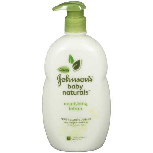 Johnsons Baby Naturals Nourishing Lotion 18 fl. oz. Pump -- 12 per case. by Johnson & Johnson