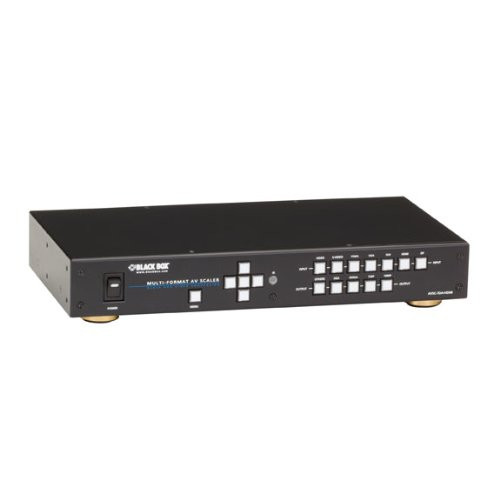 (Black Box Presentation Switcher - HDMI, DVI, VGA, DisplayPort, 7 x 1)