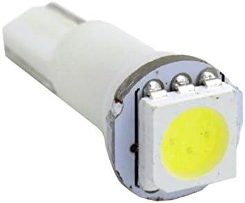 6 X 27.168 Stepper Motor+10T5 White LED 10pcs T5 37 74 1-5050-SMD White LED Partsam 6 Pcs X27.168 Stepper Motor Speedometer Cluster Repair Kit