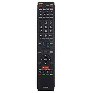 GOLDENRIVER E0-Class Material GB118WJSA Replacement Remote ControlCompatible with Sharp Smart TV HDTV 3D LCD LED