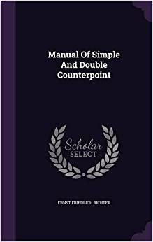 Book Manual Of Simple And Double Counterpoint