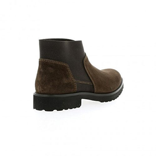 Cuir Boots Marron Marron Velours Pao 65Rqwv8