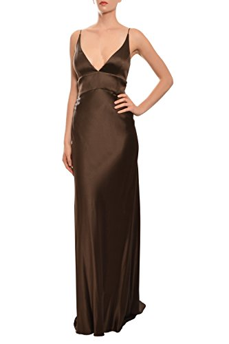 monique-lhuillier-silk-v-neck-fitted-evening-gown-dress
