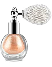Ownest Highlighter Powder Spray, Glitter High Gloss Spray Shimmer Sparkle Powder Makeup Spray, for Face Body Cosmetic