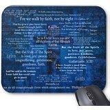 Inspirational Faith Bible Verses Mouse Pad 9.84″x7.87″