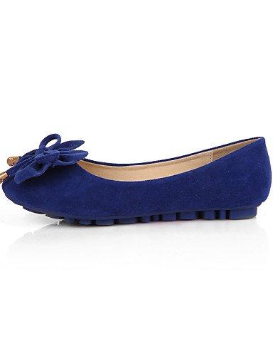 Redonda Punta talón cn42 5 10 amarillo 8 cerrado zapatos ante PDX us9 negro black rosa de uk7 Toe mujer 5 eu41 Mocasín de Flats azul plano tipo Casual morado fzxwvXqF