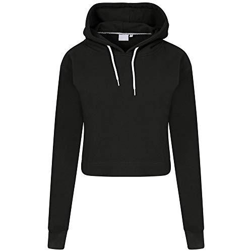 Pepe Jeans Jackets - TOPUNDER Autumn Casual Long Sleeve Sweatshirt Women Solid Pullover Hoodie Top