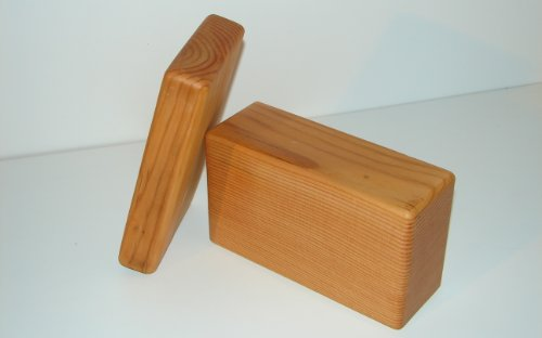 Yoga Block Wood Hand Made w/ Recycled Lumber (Standard Block 4
