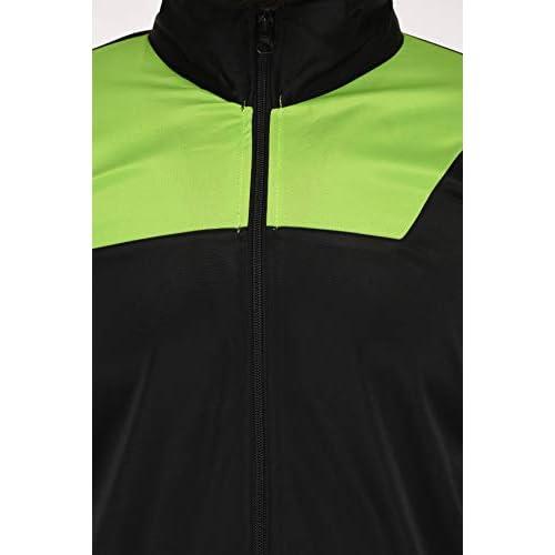 31jTv1bnVzL. SS500  - Fashion7 Men's Polyester Tracksuit - Black Tracksuit for Men Sports