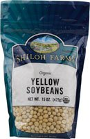 Shiloh Farms Organic Yellow Soybeans -- 15 oz
