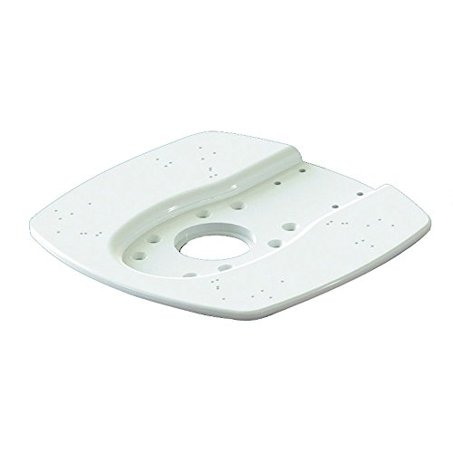 Marine Radar Mounts - Seaview Modular Top Plate for Open & Closed Dome Radars, White, ADA-R1