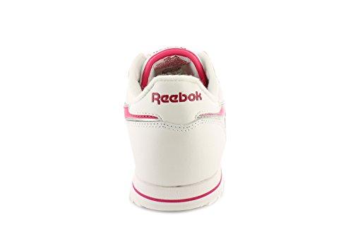 Reebok CL Lthr Ripple III V59227 Kinder Schuhe, Weiß