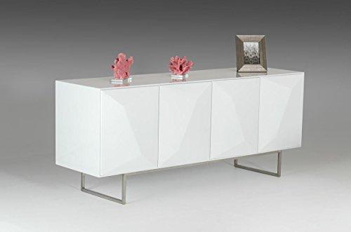 VIG Furniture Modrest Vanguard - Modern White Buffet