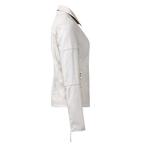 blousons ete street one ben, biker jacket with stitchi gris