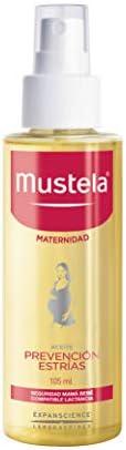 Mustela, Maternidad, Aceite Prevención Estrías para cuerpo, durante el Embarazo y Postparto, Refuerza la elast