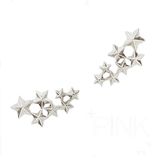 SODIAL(R)Boho Victoria Couple Alloy 7 Stars Brooch Collar Needle Wedding Christmas Gift - Victoria Tiffany