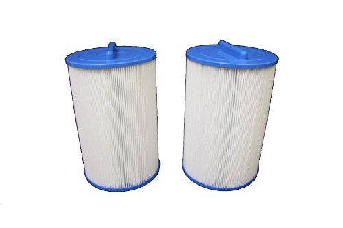 Hot Tub Filter Cartridge - Guardian Filtration Products 2 Pack - New Spa Filter Cartridges Fit: UNICEL 6CH-940-FILBUR FC-0359-Pleatco PWW50P3