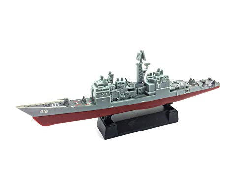 - 4D 1:1100 Scale USS Vincennes CG-49 Battleship Cruiser US Navy No.01 Miniature Toy Figure Model Kit