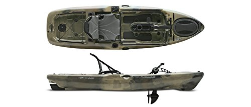 Native Watercraft Slayer 10 Propel Pedal Fishing Kayak (Hidden Oak)