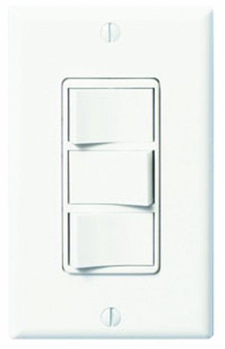 WhisperControl FV-WCSW31-W Three-Function On/Off Switch, White Compatible with Panasonic Fans