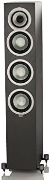 Elac Uni-Fi FS U5 Slim Negro Altavoz - Altavoces (De 3 vías, 1.0 Canales, Alámbrico, 42-25000 Hz, 4 Ω, Negro)