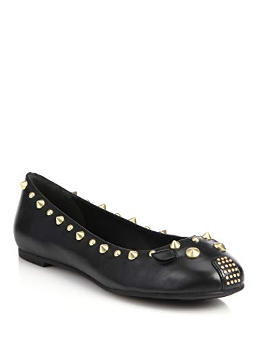 Marc by Marc Jacobs Women's Mouse Ballet Flat,Black,40 EU/10 M US ()