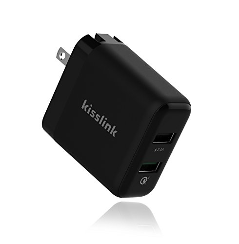 kisslink-kw3210-dual-usb-smart-wall-charger-with-qualcomm-quick-charge
